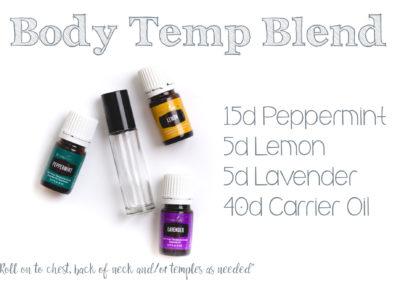 Body Temp Blend