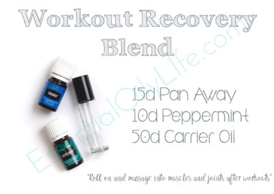 Workout Recovery Blend